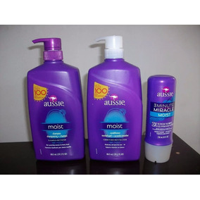 Aussie Moist Shampoo Cond 865ml 3 Minute 236ml