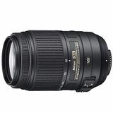Lente Nikon Vr 55-300mm Af Dx F4.5-5.6g Nikkor+funda+parasol