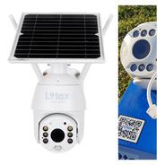 Camara Domo Seguridad Wiffi Hd Panel Solar Tarjeta Sd Grátis