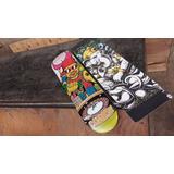 Tabla De Skate Century Maple (play 4 Me) + Lija Woodoo Art