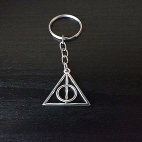 Chaveiro Harry Potter Reliquias Da Morte - Pronta Entrega
