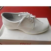 Zapatos Flexi Piel 25601 Blanco, Enfermeria