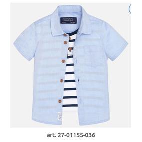 Camisa Para Bebé Doble 6 9 12 18 Y 24 Meses