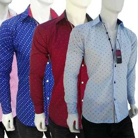 Camisas De Moda,paquetes De12 Pzas