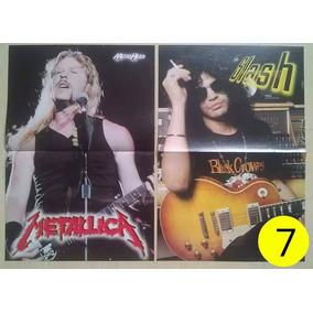 Poster Metallica (james Hetfield) / Slash Guns N´roses 7