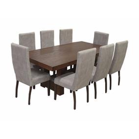 Mesa para comedor industrial con 8 sillas en mercado libre for Comedor industrial buffet