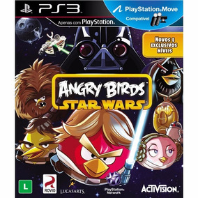 Angry Birds Star Wars - Midia Fisica Ps3 Usado