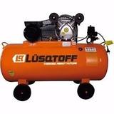 Compresor De Aire 200 Litros Lusqtoff 3hp Monofasico