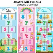 Amarelinha Em Lona - Tamanho - 1,81x0,68m