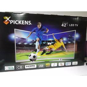 Tv Pickens 42 6 Meses De Uso Con Sus Plasticoa