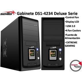 Gabinete Sentey Ds1-4234 Gaming Lcd 4 Fan Coolers Fuente 650