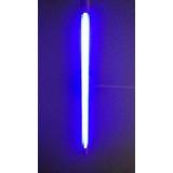 Lampada Fluorescente Tubular 40w Azul T8 Tubo Branco