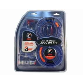 Kit Cable Calibre 8 Pro Flexibles Hf-kit2000 2000w