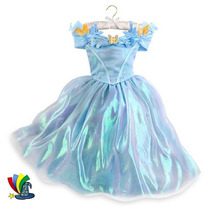 Disfraz Vestido Cenicienta Original Disney Store Collection