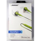 Audifonos Bose Soundsport Energy Green
