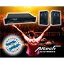 Combo Potencia Altech Xp 4000 Y 2 Bafles 15-400
