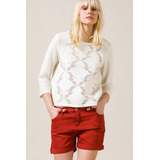 Sweater Mujer Portsaid Buzo Red Y Flores Lara