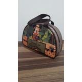 Bolsa Personalizada Meia Lua Grande Do Mickey Safari