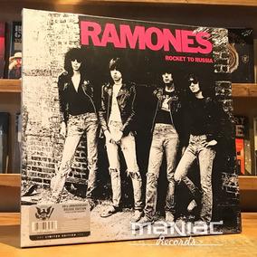 Ramones Rocket To Russia Deluxe Vinilo 3 Cd Libro