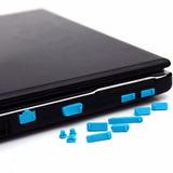 2 Sets Protectores Silicon Antipolvo Para Puertos Laptop Usb
