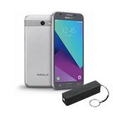 Celular Smartphone Samsung Galaxy J3 Gris 16gb + Power Bank
