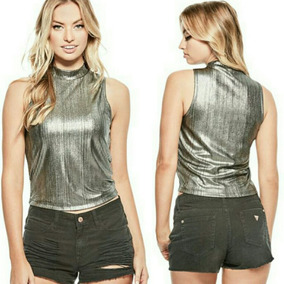 Blusas Metalizadas Ultima Moda
