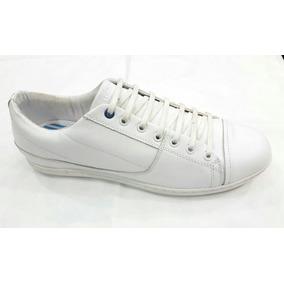 Zapatillas De Cuero Blancas Urbanas Airborn