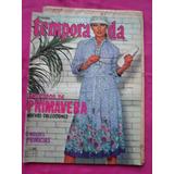 Revista Temporada N° 390 Moda Primavera Vintage Con Patron