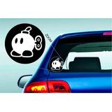 Super Mario Bob Bomb Vinilo Sticker Calco Decoracion