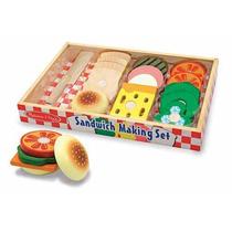 Juega Y Aprende A Hacer Un Sandwich Desarrollo Habilidades