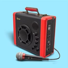 Caixa Amplificada 5 Em 1 Com Bluetooth Pulse Raveo