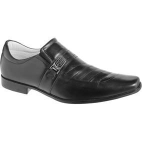 Sapato Em Couro De Carneiro Preto Cal Ados Mafisa 580 Masculino ... 84850c919fd
