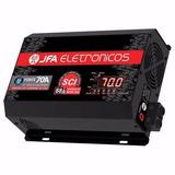 Fonte Carregador Bateria Jfa 70a Sci Mantém 3500wrms Som