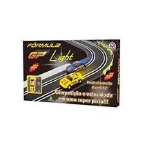 Autorama Fórmula Gp Light Elétrico 2 Carrinhos E Controles