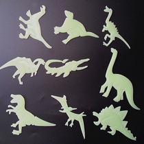 Adesivos Dinossauros 3d Brilham No Escuro