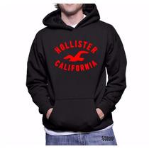 Moletom Hollister Masculino Mod 02 Blusa De Frio Canguru