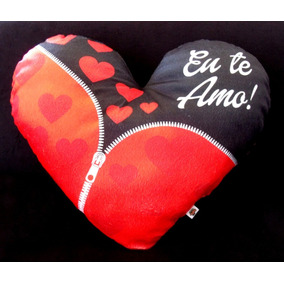 30 Almofadas Coração 35x40 - M Dia Dos Namorados Em Pelúcia