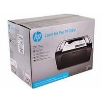 Impresora Hp Laserjet Pro P1109w. De Toner