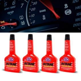 Kit 4 Aditivo Gasolina Stp Octane Booster