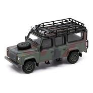 Land Rover Defender Camuflada - 1:64 - Mini Gt