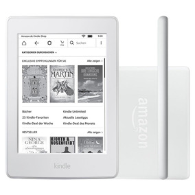 Kindle 8ª Geração Ao0512 Branco - Wi-fi, 4gb