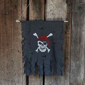 Para Halloween Fiesta Bandera Decoracion Jolly Roger Pirata