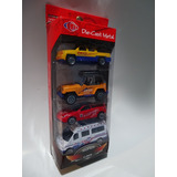 Carritos De Coleccion Set 4 Metal