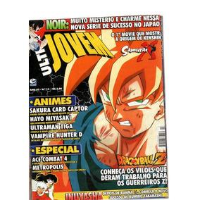 Revista Ultra Jovem Samurai X Dragonball Z Nº 13