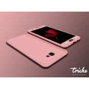Funda 360 + Cristal Slim Color Oficina Galaxy J7 Prime G610