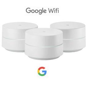 Google Wifi Smart Home Ac1200 Roteador 3 Pontos - Envio 24h