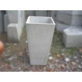 Piramidal Maceta Fibrocemento 60 Alto X 30 Boca Cemento