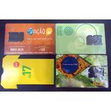 Cartões Celular - 4 Chip