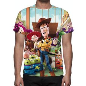 Camisa, Camiseta Disney Toy Story - Estampa Total