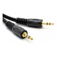 Cable Auxiliar Mini Plug 3.5 Mm. Macho 1,5 Metros Audio